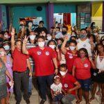 """""""Osmar tem trabalho por toda área do Itaqui"""", disse morador durante visita do vereador à região"""