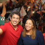 Osmar Filho comemora eleição de sua mãe, Drª Maria Félix, à Prefeitura de Cajari