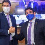 Osmar Filho recepciona Braide na Câmara de São Luís