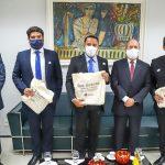 Osmar Filho visita MPMA e debate projetos para São Luís