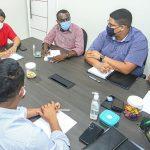 Em reunião com Comissão da CMSL, Osmar Filho debate ações para São Luís